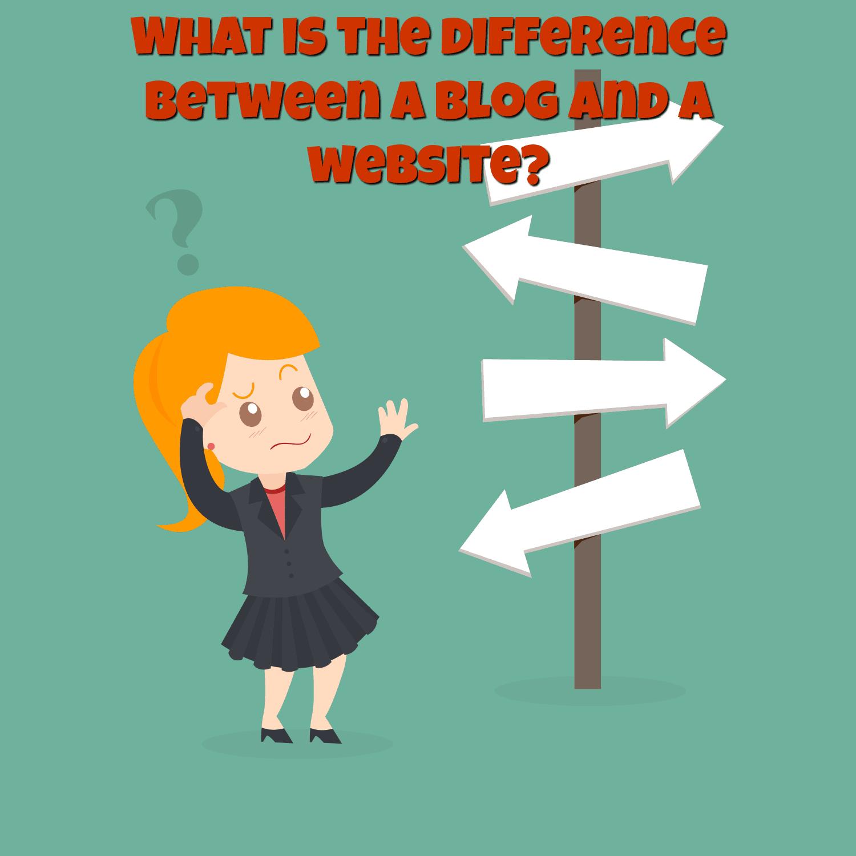 DifferenceBetweenBlogAndWebsite