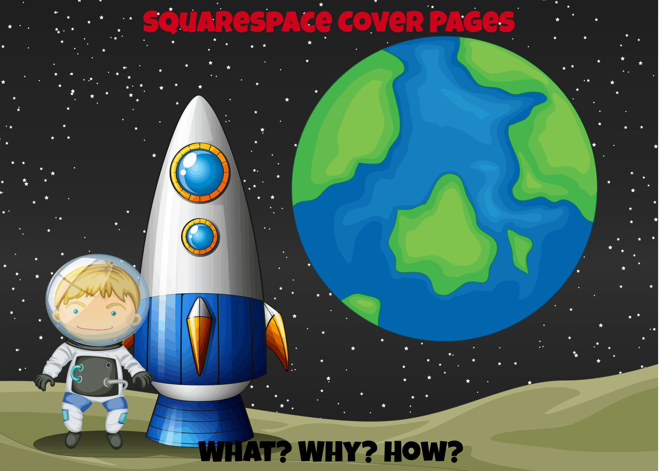 squarespace cover pages