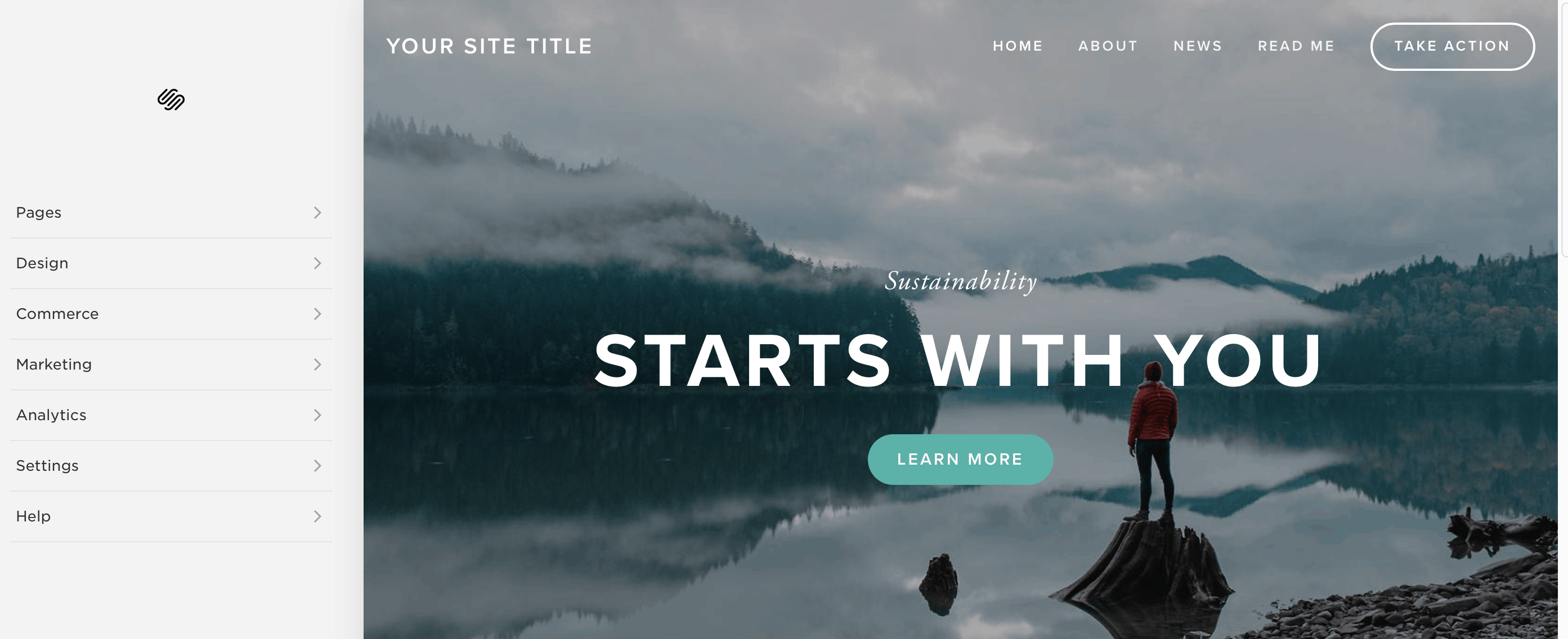 squarespace website ready