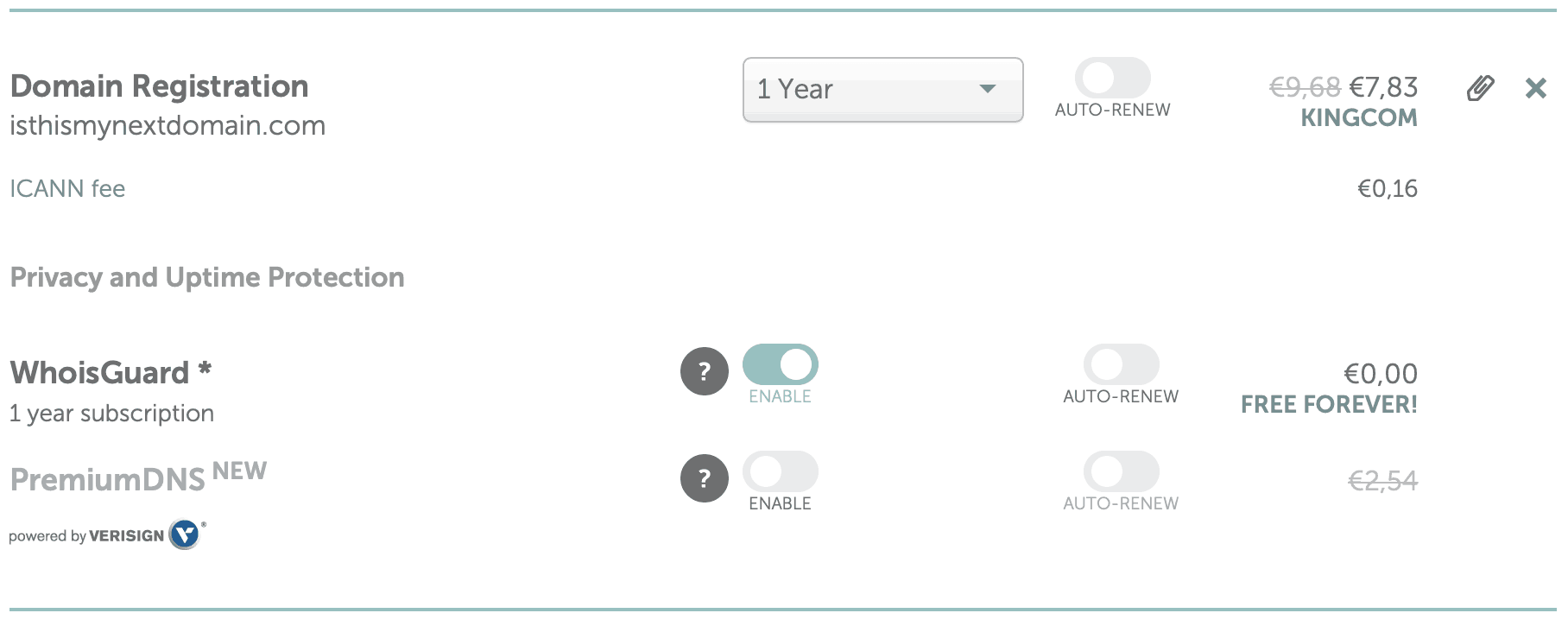 wix namecheap domain details