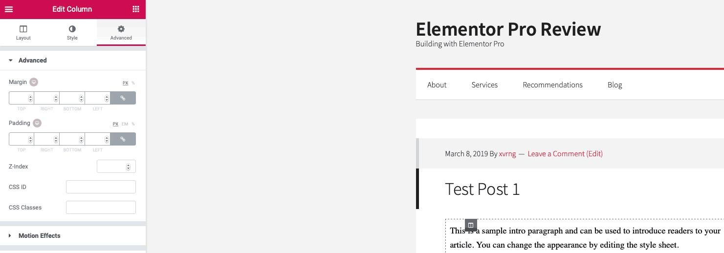 elementor css free version