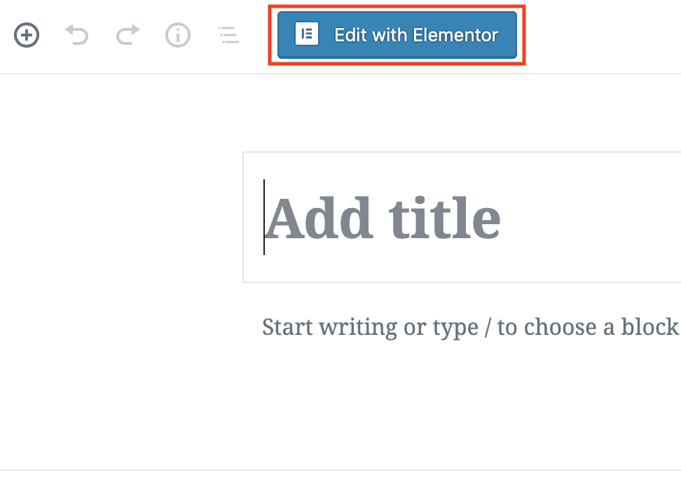 elementor pro review create a post