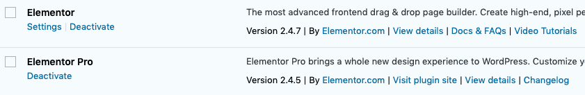 elementor pro review wp plugins