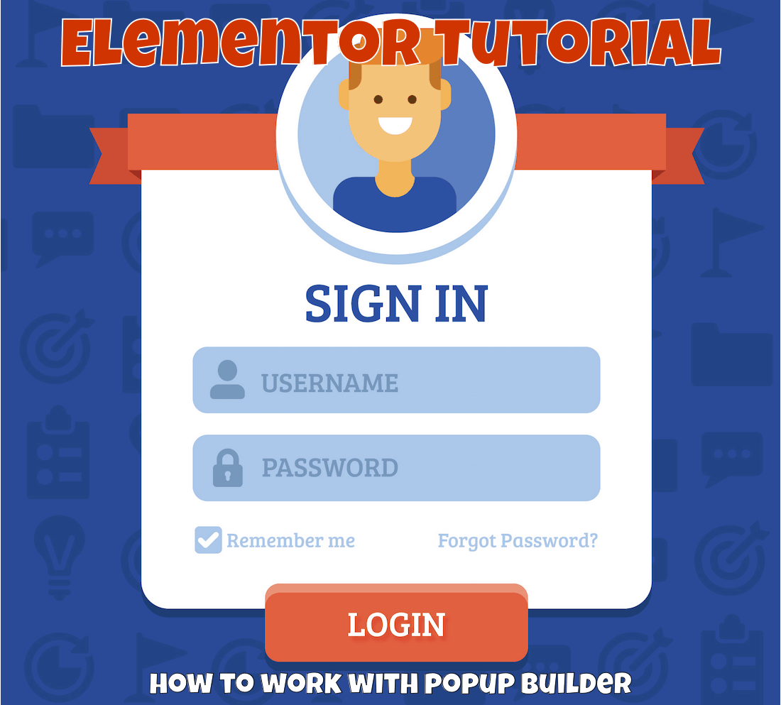 elementor tutorial popup builder