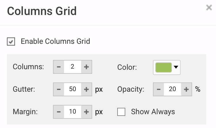 hostgator columns grid