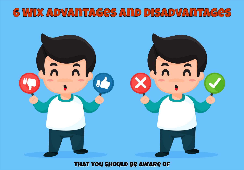 six wix advantages and disadvantages