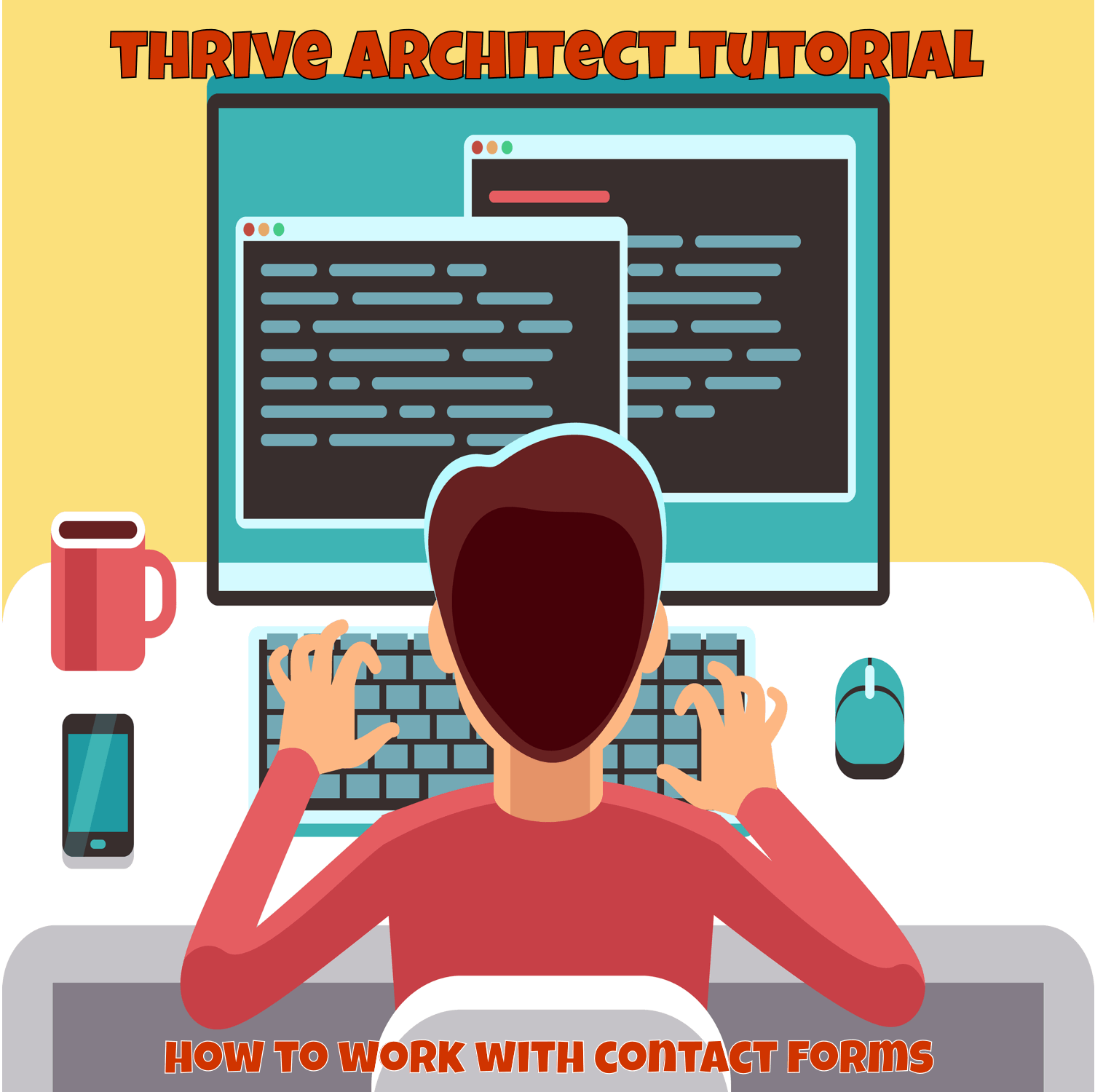 thrive architect contact form