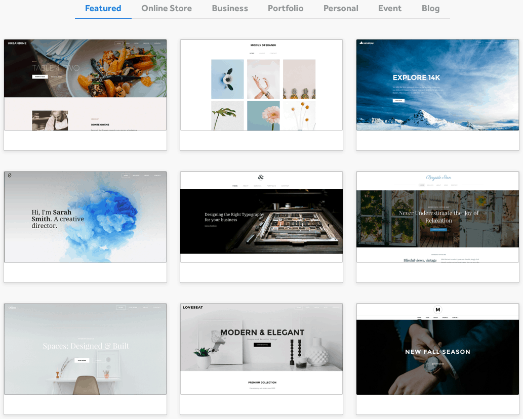 Weebly themes marketplace