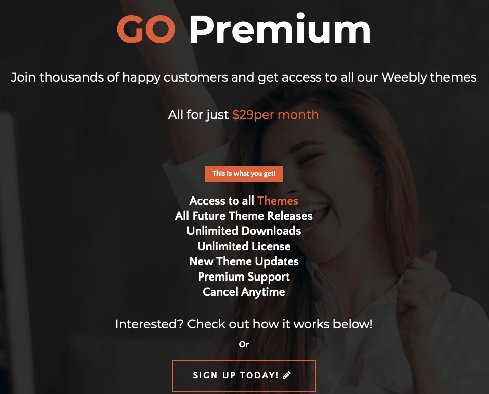 webfire premium membership
