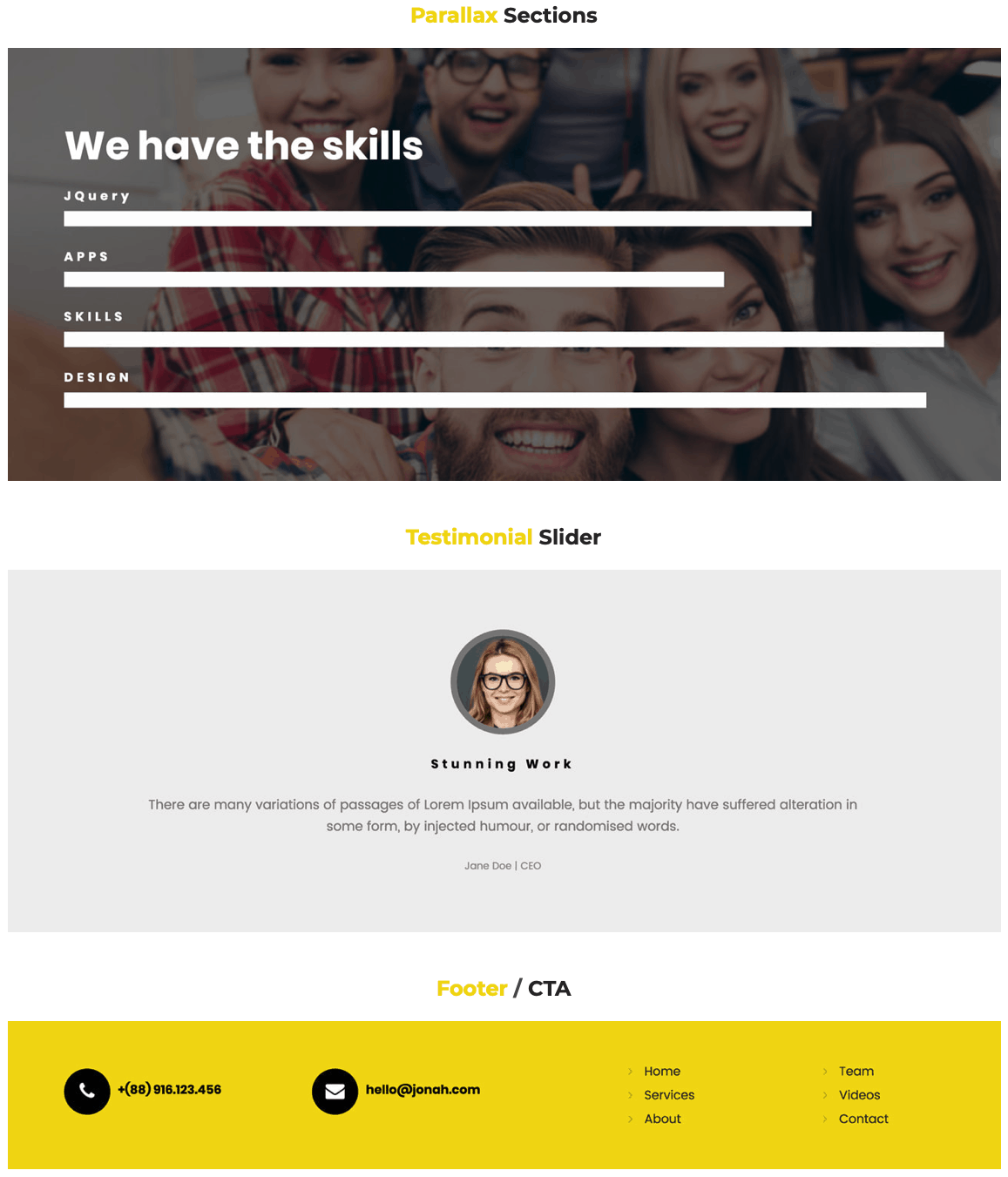 Webfire Themes Review – The Best Premium Weebly Themes