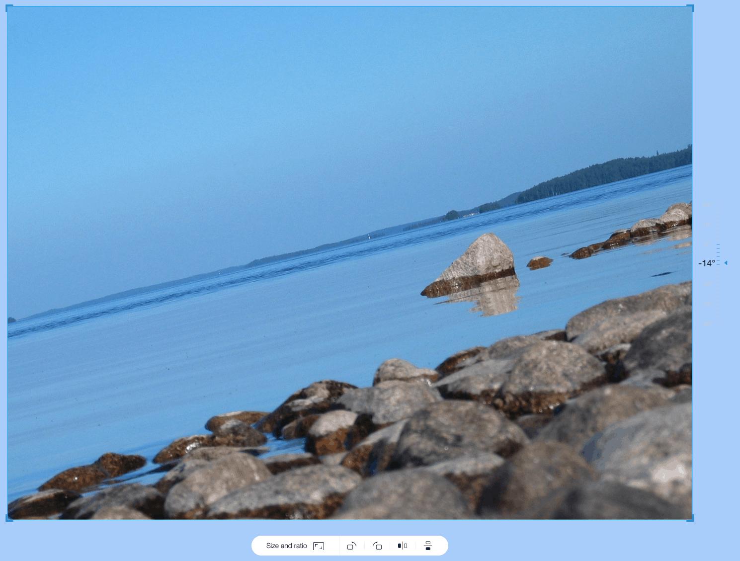 wix editor image rotation