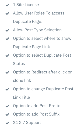 page duplicator features