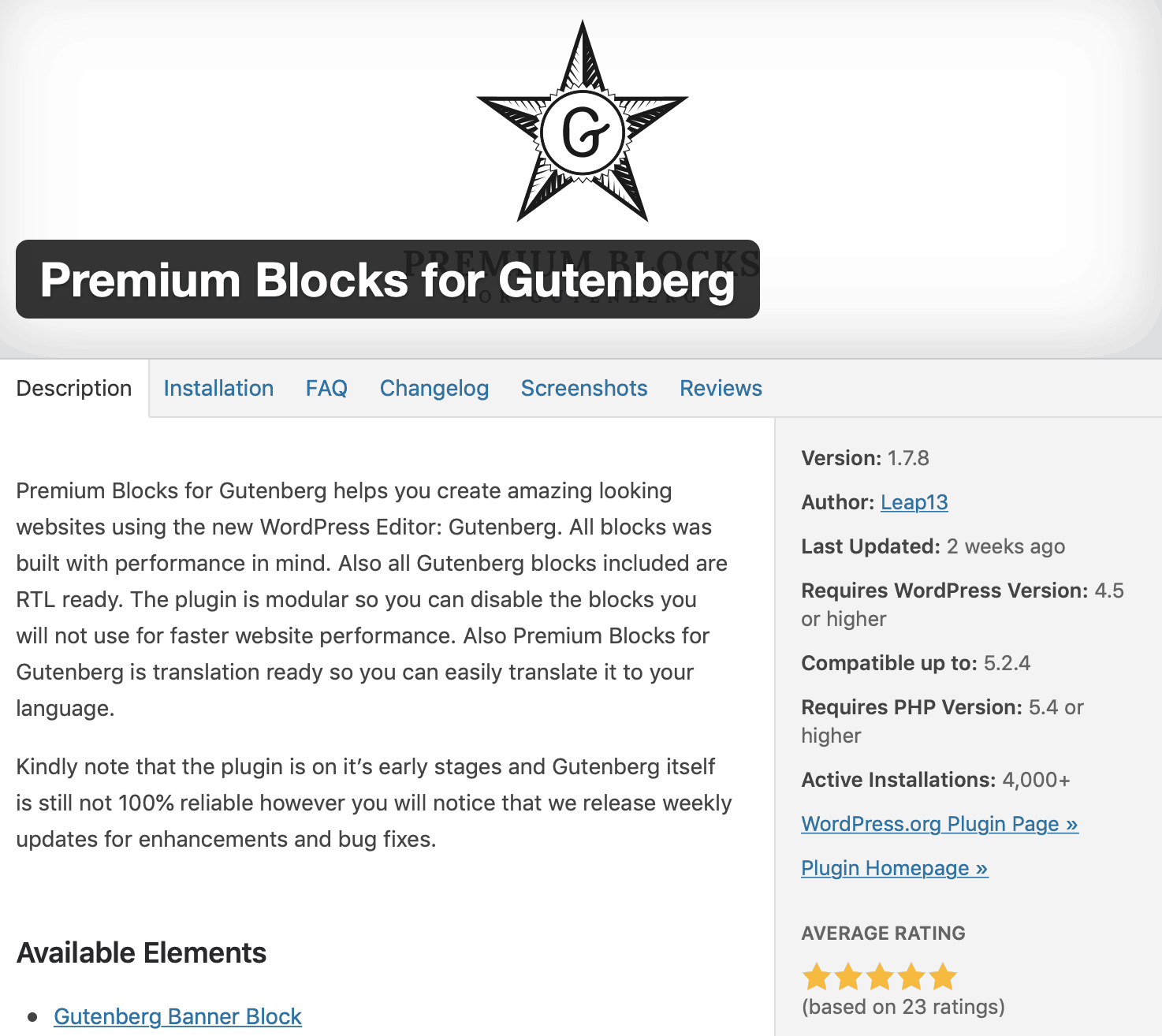 premium blocks for gutenbnerg