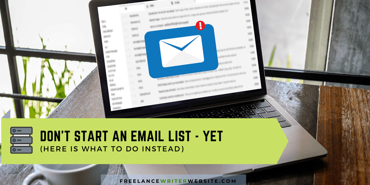 starting an email list