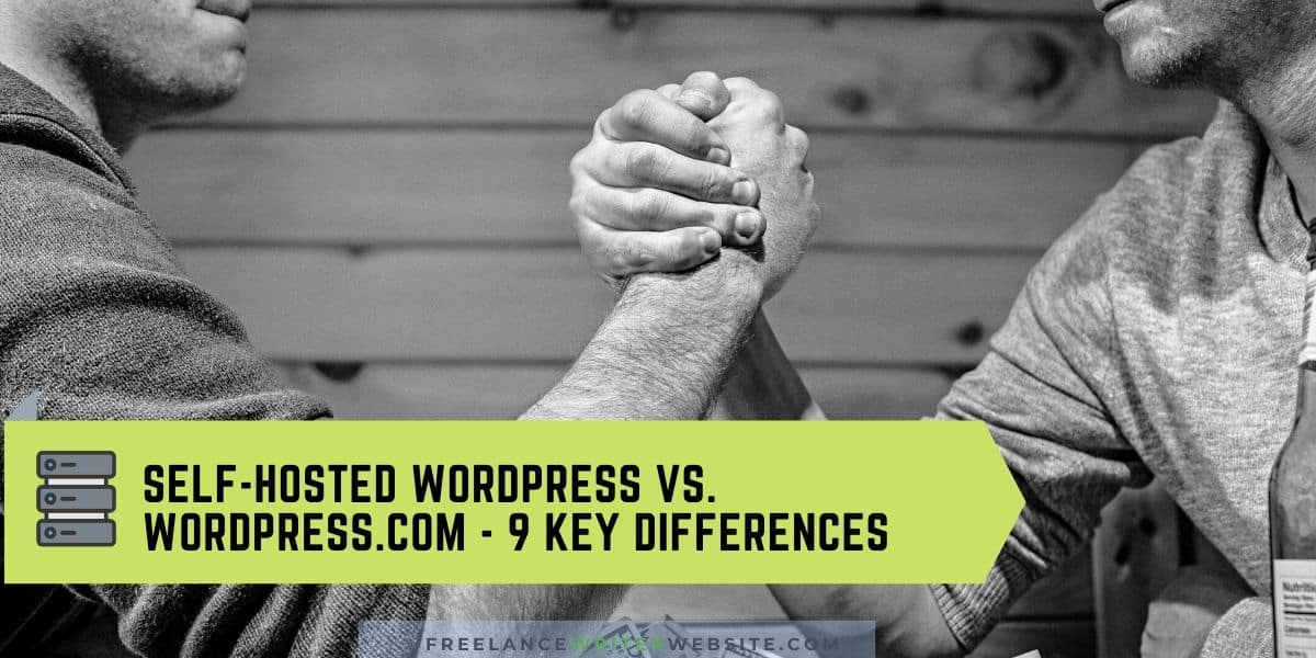 self hosted wordpress vs wordpress com