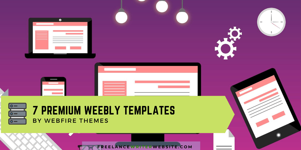 7 premium weebly templates