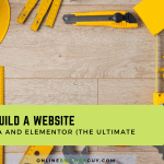 how to build a website with astra elementor