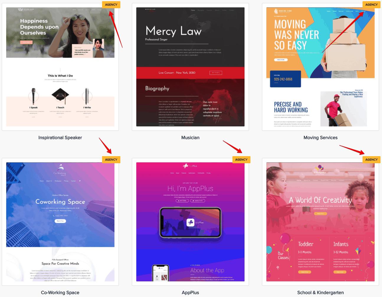 premium templates